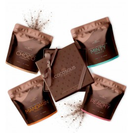 Cocosolis Luxury Coffee Scrub Box 4x70gr