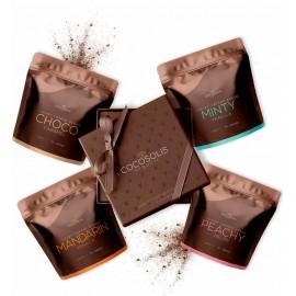 Cocosolis Luxury Coffee Scrub Box 4x70gr