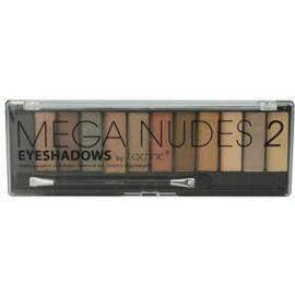 Technic Mega Nudes 2 Eyeshadows Palette in 12 Colors