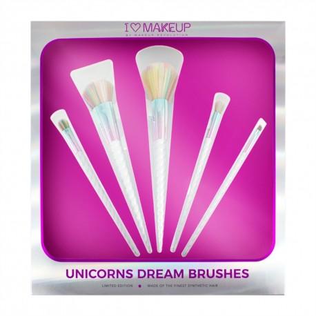 Makeup Revolution I Heart Revolution - Unicorns Dream Brush Set
