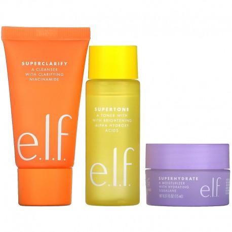 e.l.f. Supers Mini Trio Skin Care Set