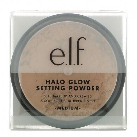 e.l.f. Halo Glow Setting Powder - medium