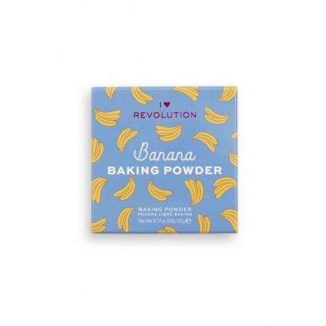 Makeup Revolution Loose Baking Powder Banana 22gr