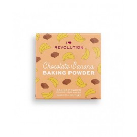 Makeup Revolution Loose Baking Powder Chocolate Banana 22gr