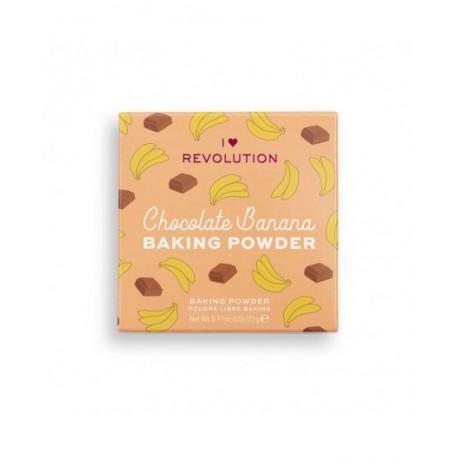 Makeup Revolution Loose Baking Powder Chocolate Banana 22gr