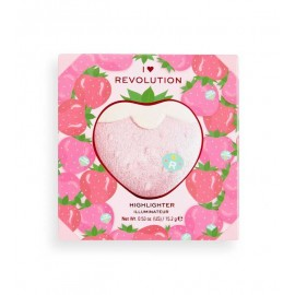 Makeup Revolution Powder Highlighter Tasty 3D Strawberry 15.2g