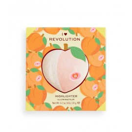 Makeup Revolution Powder Highlighter Tasty 3D Peach15.2g