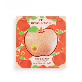Makeup Revolution Powder Highlighter Tasty 3D Apple 15.2g