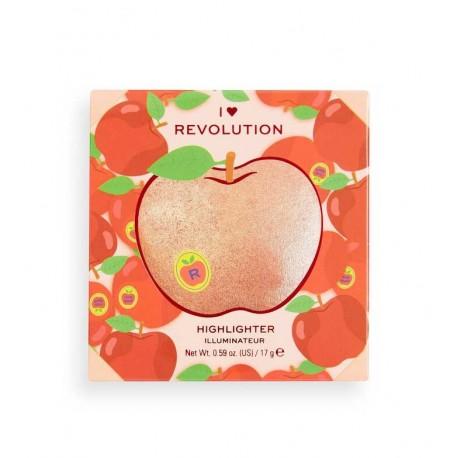 Makeup Revolution Powder Highlighter Tasty 3D Apple 15.2g