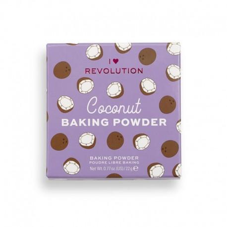 Makeup Revolution Loose Baking Powder Coconut 22gr