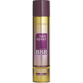 Farcom 888 Very Strong Hold Hair Spray 400ml