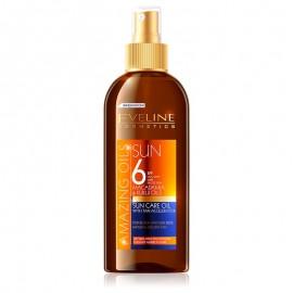 Eveline Cosmetics Amazing Oils Sun Care Oil With Tan Accelerator SPF6 150ml.
