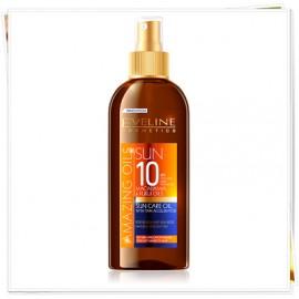 Eveline Cosmetics Amazing Oils Sun Care Oil With Tan Accelerator SPF10 150ml.
