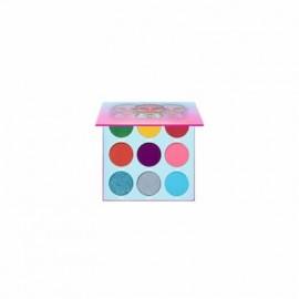 Juvia's Place Warrior 3 eyeshadow palette pop colors