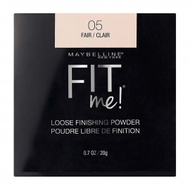Maybelline Fit Me! loose finishing powder.