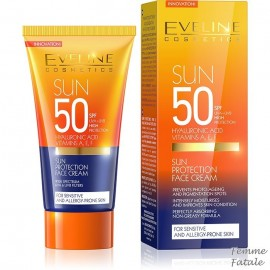 Eveline Cosmetics Αντηλιακή Κρέμα Προσώπου Με Δείκτη Προστασίας SPF 50