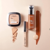Oh, yes!  -This combination is your #truematch . . . #Bellacosmetics #beauty #makeupaddict #cosmeticsbrands #shoponline #bellagirls #loreal #truematch #collection #foundation #concealer #powder #sales #facecare #flawless #skin #coverage #skgshops #thessaloniki